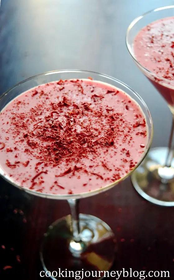 rhubarb strawberry mousse