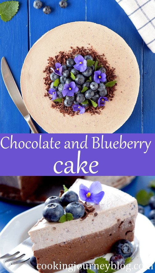 Easy Chocolate Blueberry Cake (Easy Blueberry Recipes)