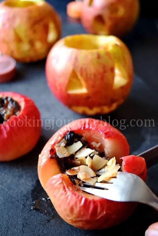 Baked apple, Healthy Halloween treats