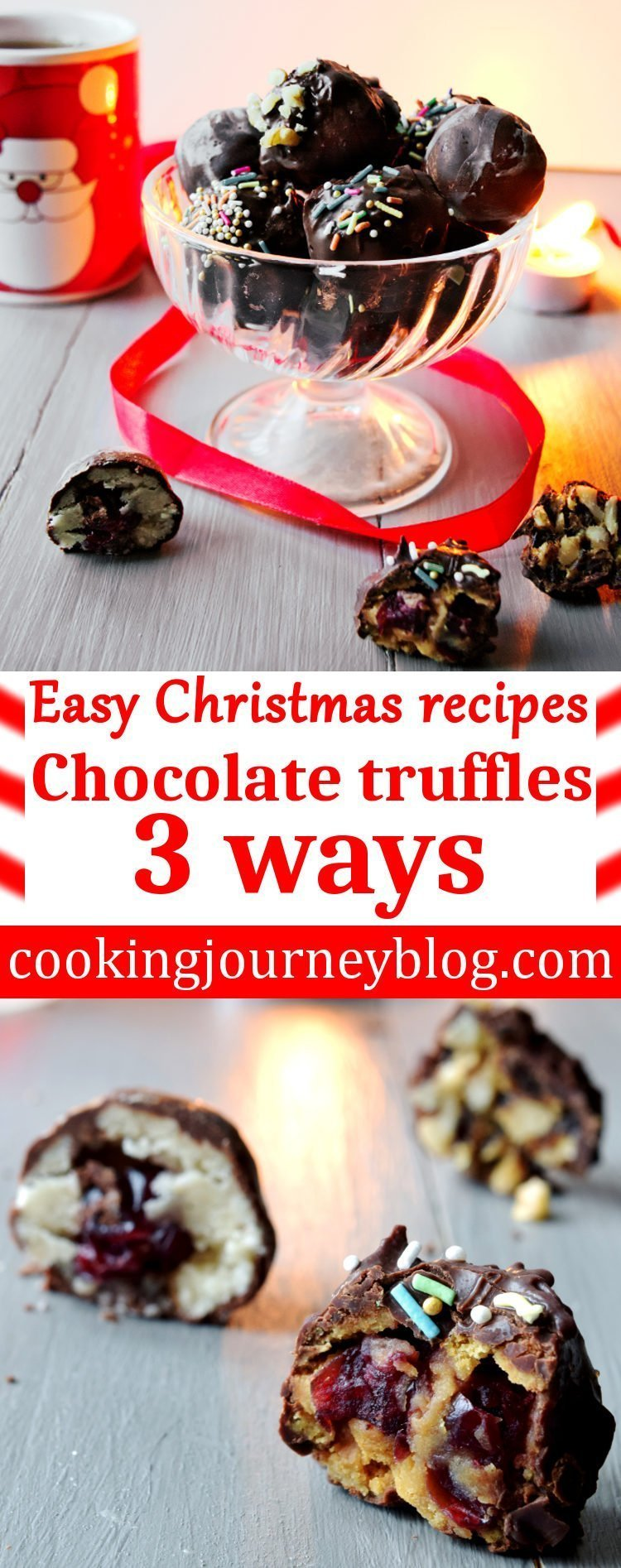 We Have So Much To Do Before Christmas These Easy Homemade Truffles 3 Ways