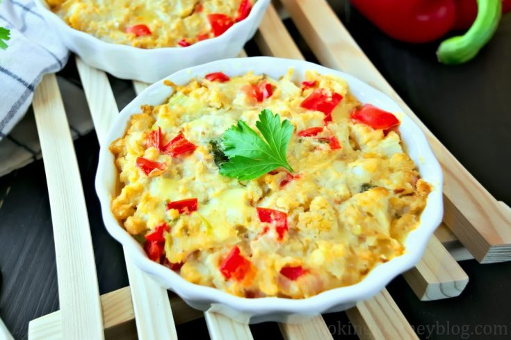 Cauliflower casserole – Cauliflower gratin