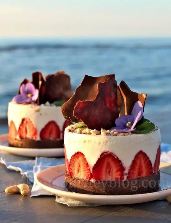 No Bake Greek Yogurt Desserts on the seaside