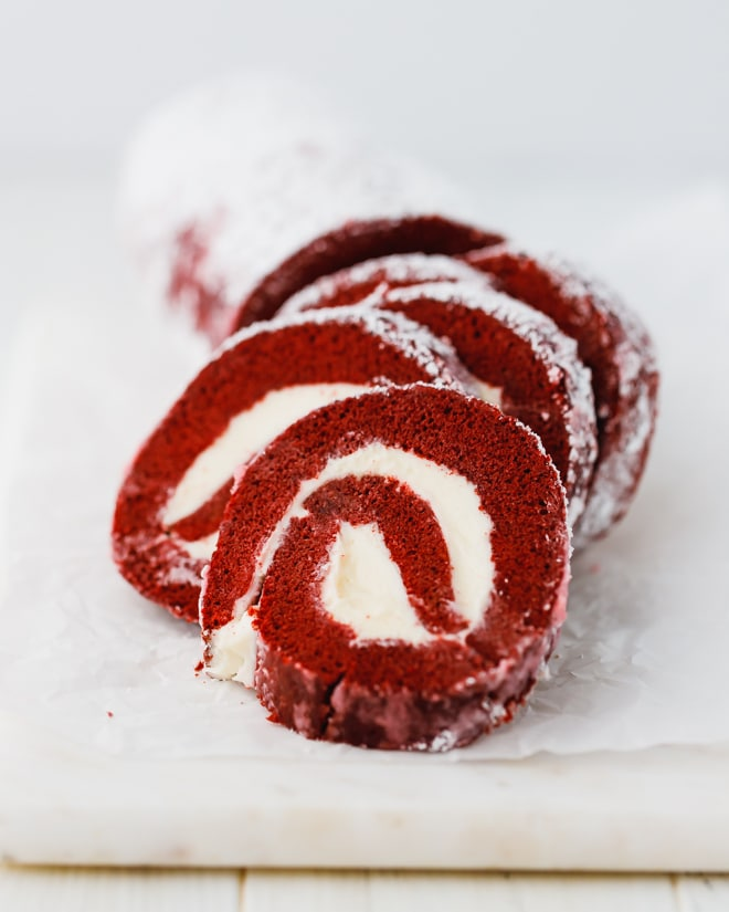 Red Velvet Swiss Roll : velvet, swiss, Velvet, Cream, Cheese, Filling, Giveaway