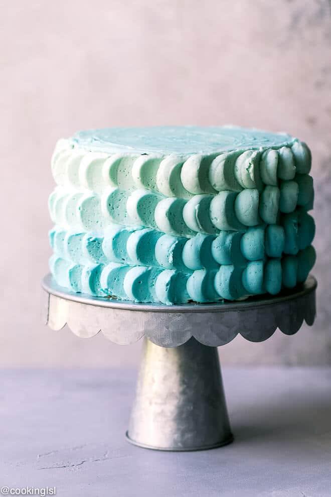 Smash Cake Recipe Idea Baby Boy's First Birthday - Cooking LSL