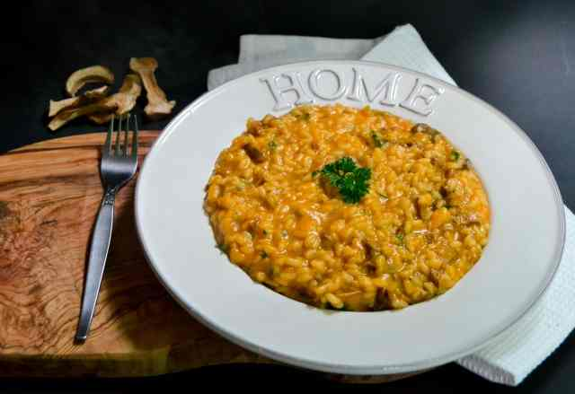 Pumpkin and Porcini Risotto (1 of 1)