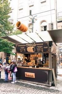 3 Days in Prague - Trdlo kiosk