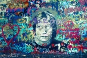 3 Days in Prague - John Lennon Wall