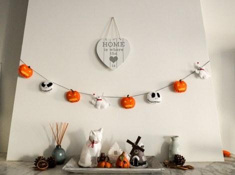 "Halloween Felt Decoration ""Nightmare before Christmas"""