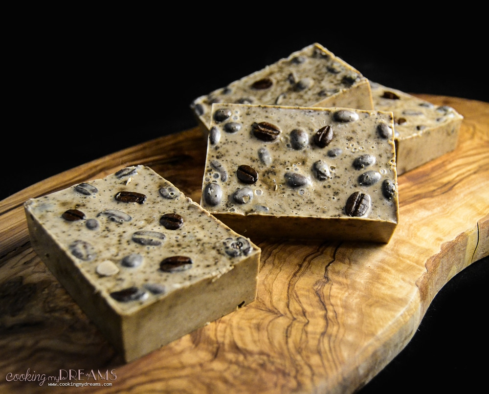 Easy Handmade Melt & Pour Coffee and Oatmeal Scrub Soap