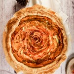 Sweet Potato Goat Cheese Quiche