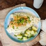 Sole Fish in creamy Lemon Milk Sauce