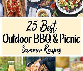 collection of 25 bbq and picnic recipes