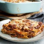 plate or tuscan lasagna