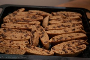 Crunchy Chocolate Chip Biscotti
