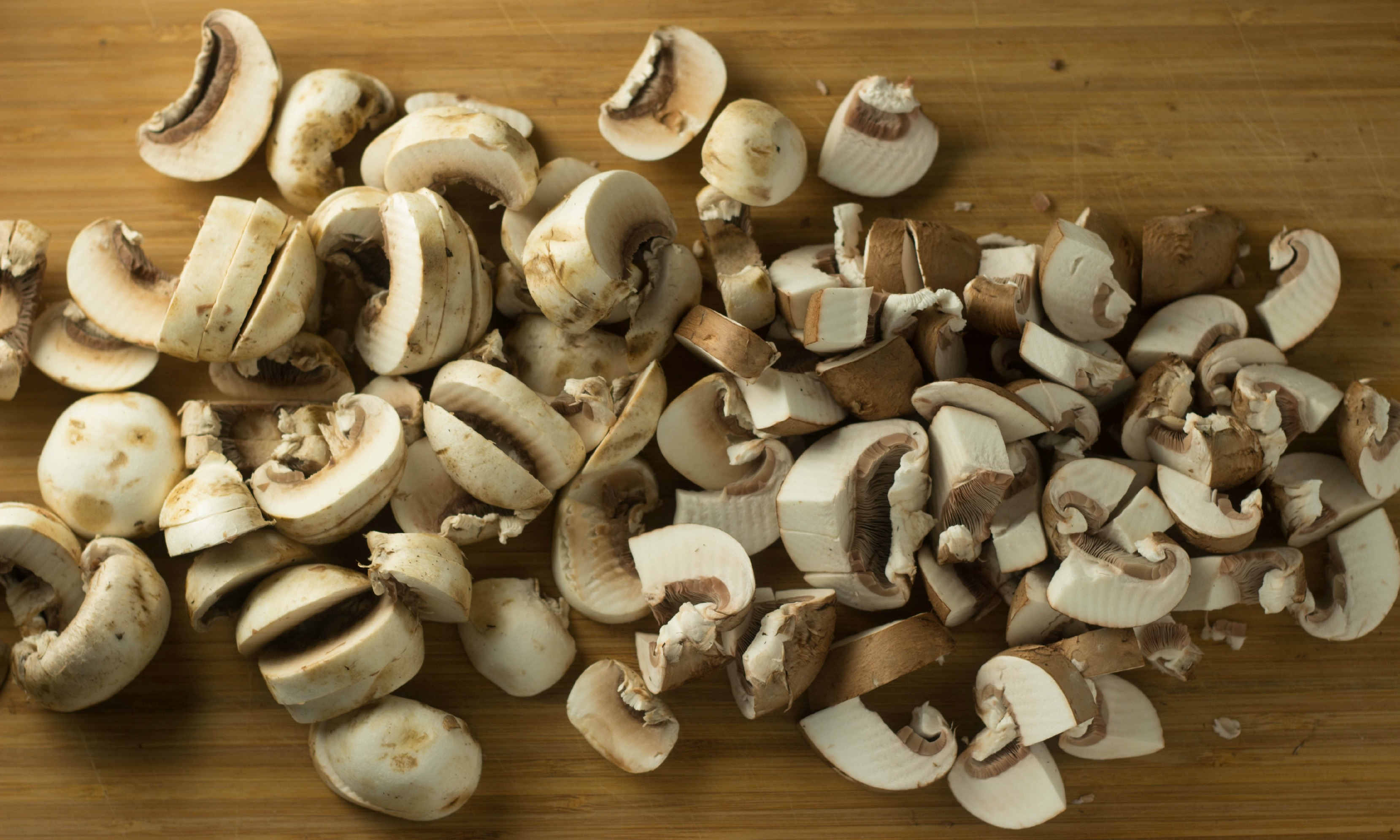 Mushroom Soup - Cooking Onions