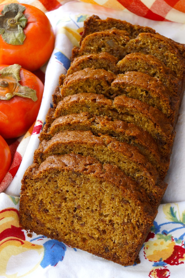 Persimmon Gingerbread Recipe | Cooking On The Weekends