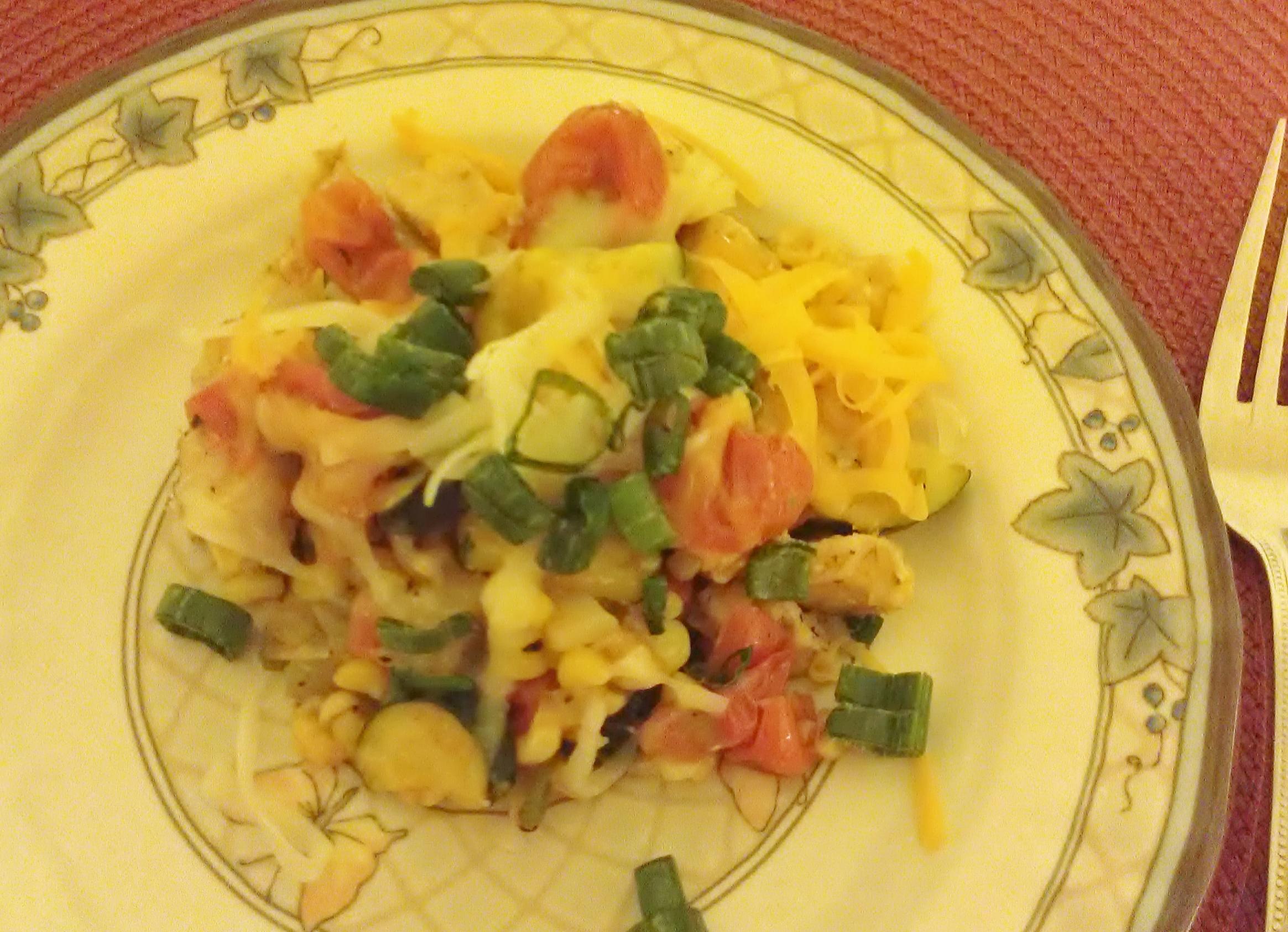 mexican zucchini succotash recipe
