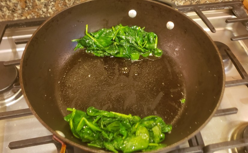 Sautéed Spinach in 2 minutes
