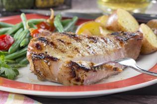 Brined-Beer Pork-Chops