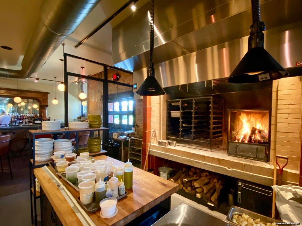 Ash Restaurant hearth