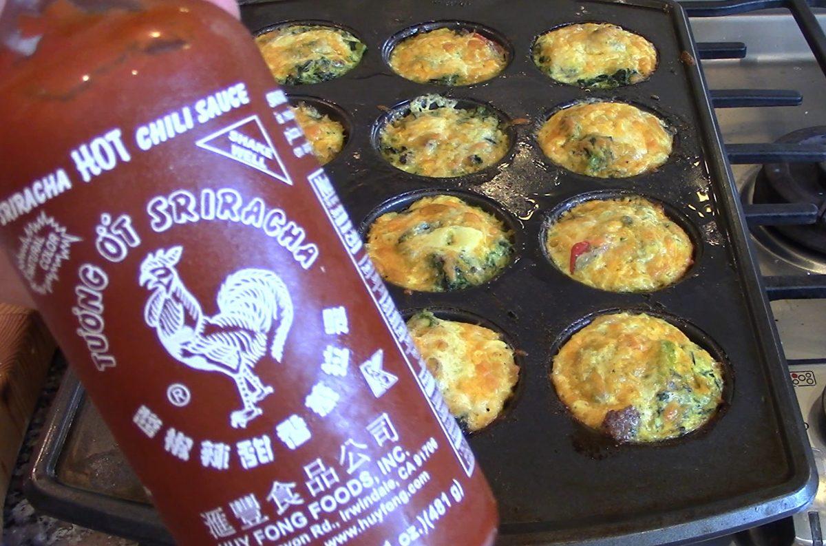 Sriracha Sauce for the Egg Muffins