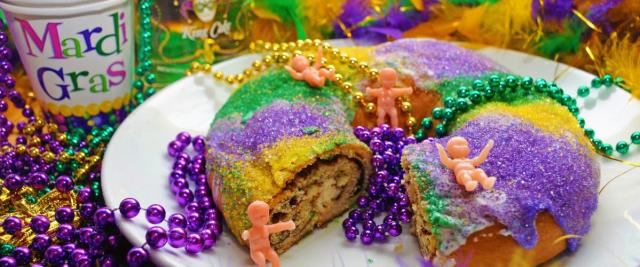 King Cake for Fat Tuesday