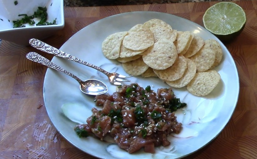 Tuna Tartare w/Sesame and Ginger