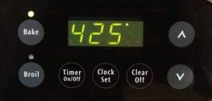 425 Degree Oven