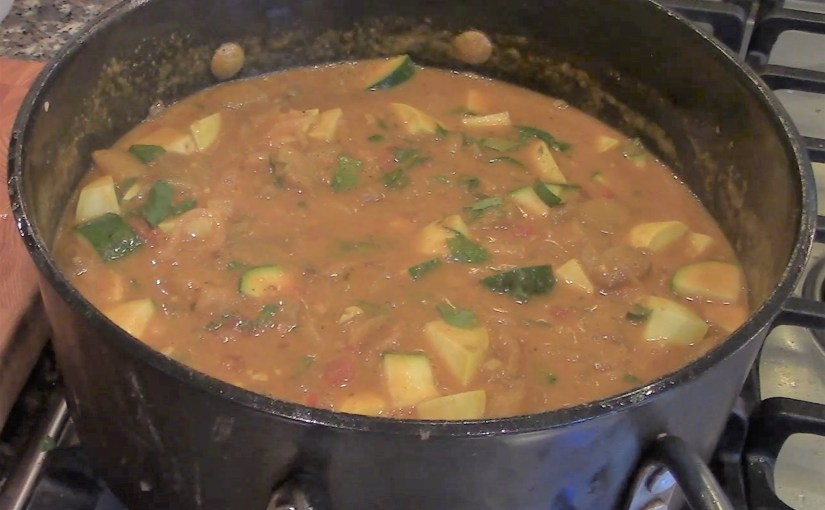 Spicy African Stew w/Peanut Butter