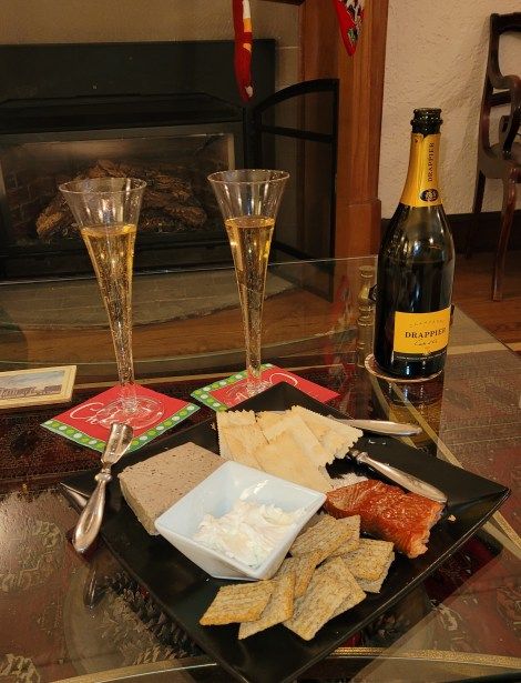Champagne for New Years Eve