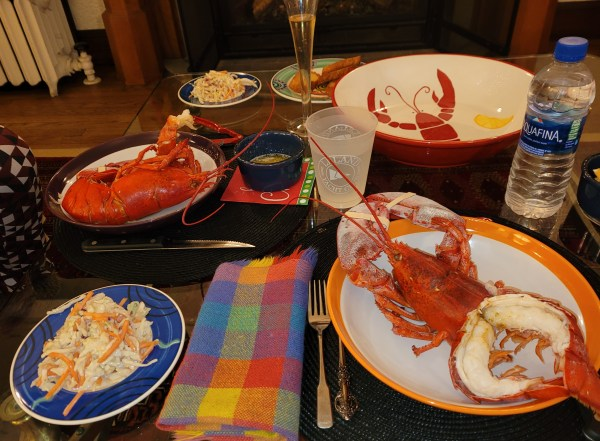 Lobsters by the Fire