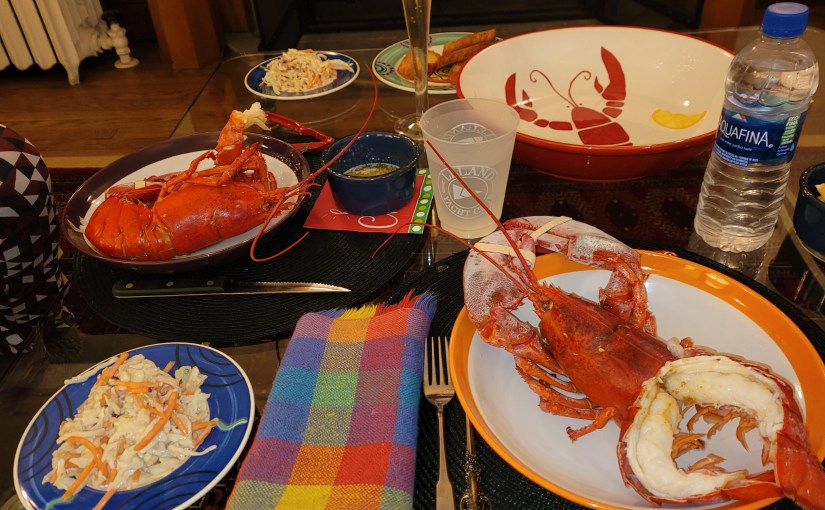 Lobsters by the Fire – New Years Eve