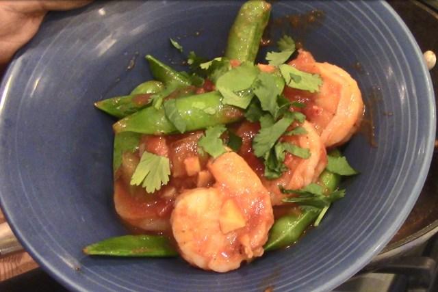 South Beach Shrimp Stir Fry