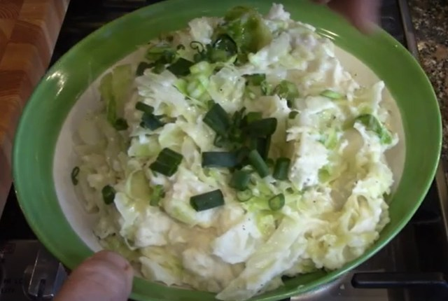 Colcannon for St Patrick's Day