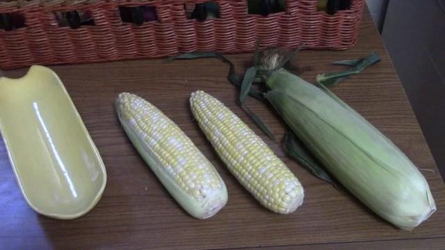 Three Types of Summer Corn