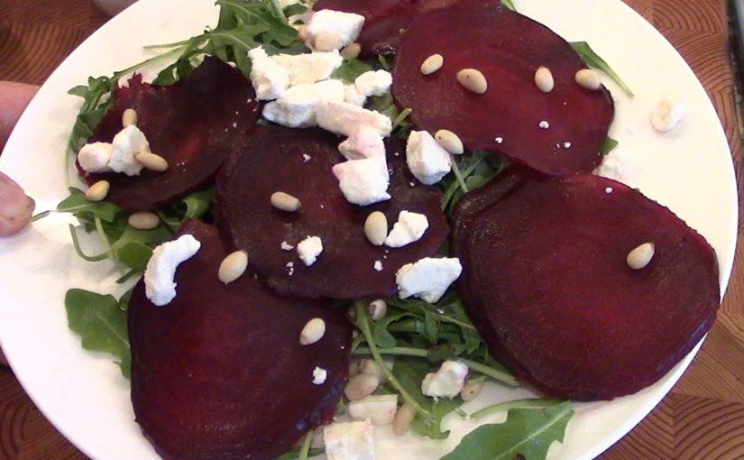 Roasted Beet Salad Recipe – video