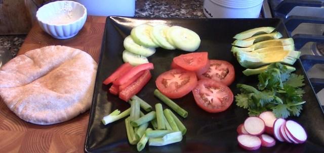 Veggie Sandwich Fixings