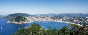 San Sebastian from Mont Igueldo (Basque Country)