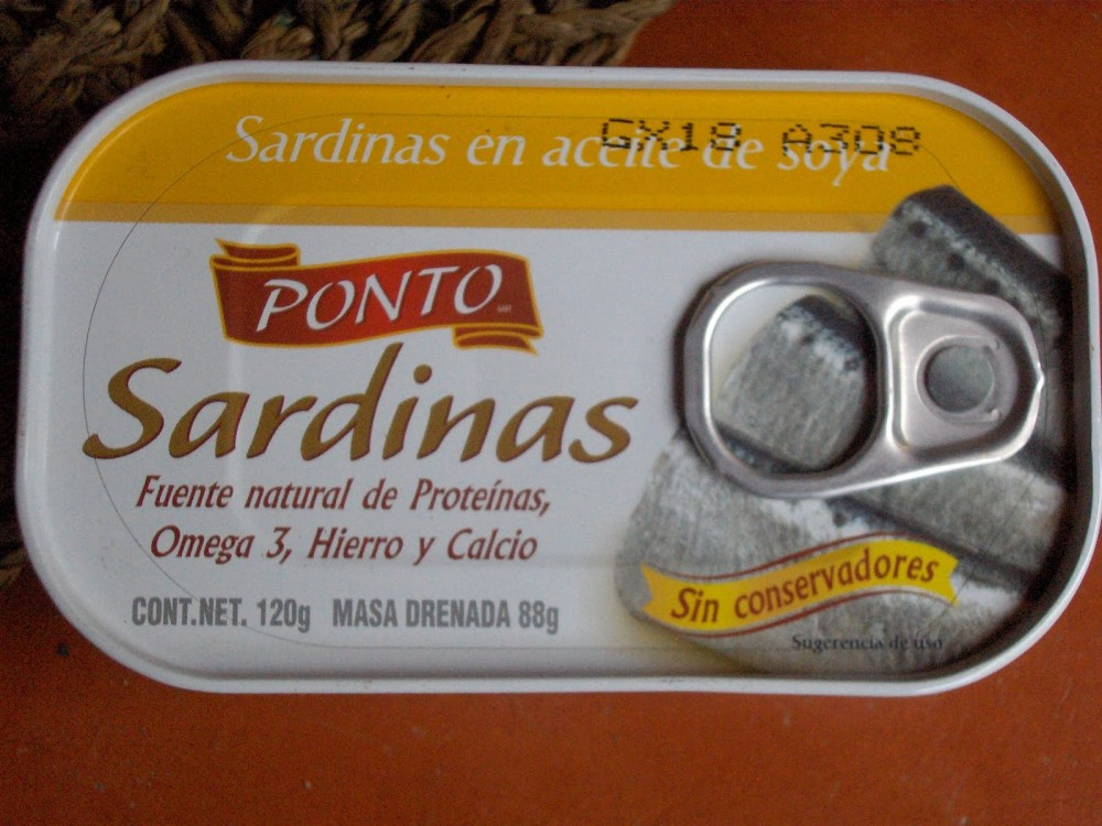 Sardines and Guacamole for Lunch? (2/2)