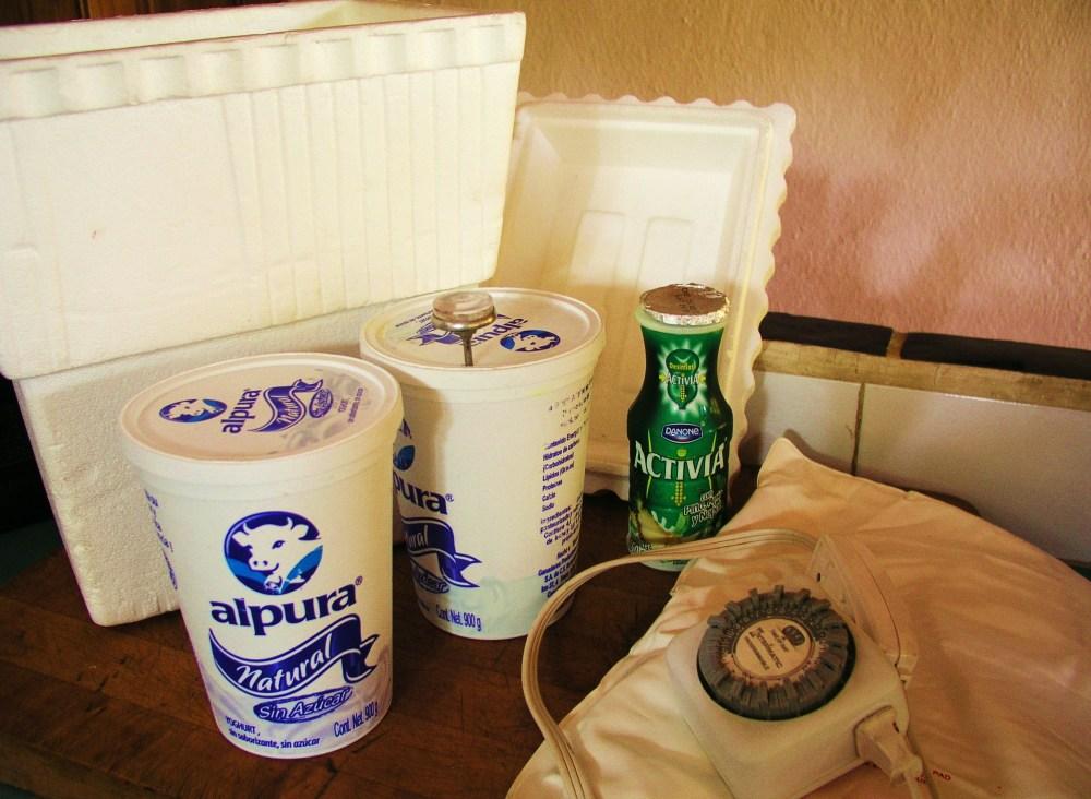 Making Homemade Yogurt in a Styrofoam Cooler (2/6)