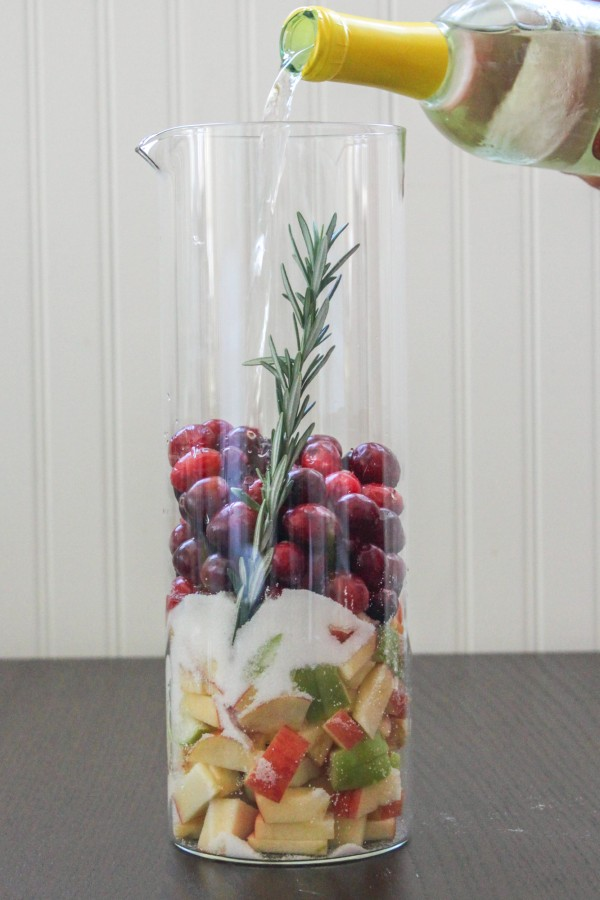Cranberry Fruit Sangria