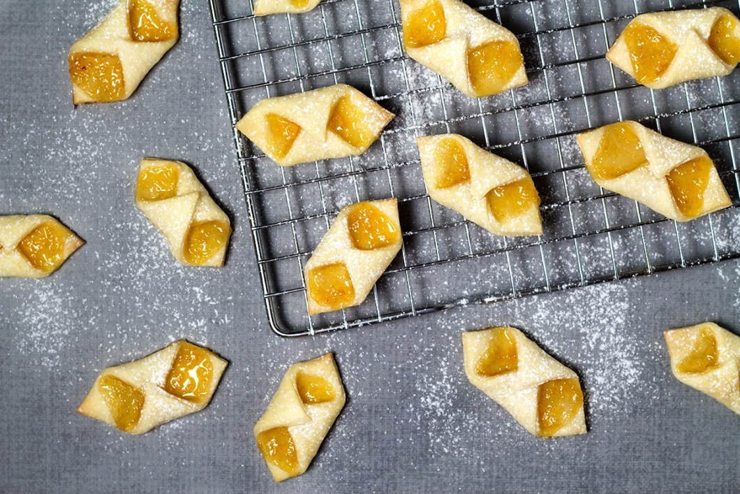polish cream cheese cookies aka kolaczki or kolacky - Kolacky Polish Christmas Cookies