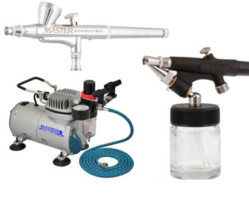 Master Airbrush Complete Cake Decorating Set SP1-20
