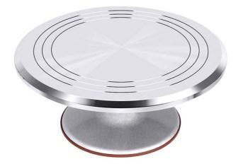 Kootek Aluminium Alloy Revolving Cake Stand Review