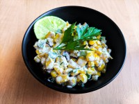 Esquites (Mexican Corn Cups Street Food)