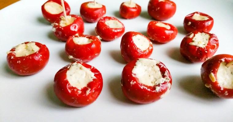 Peppadew (Piquante) Peppers with Feta