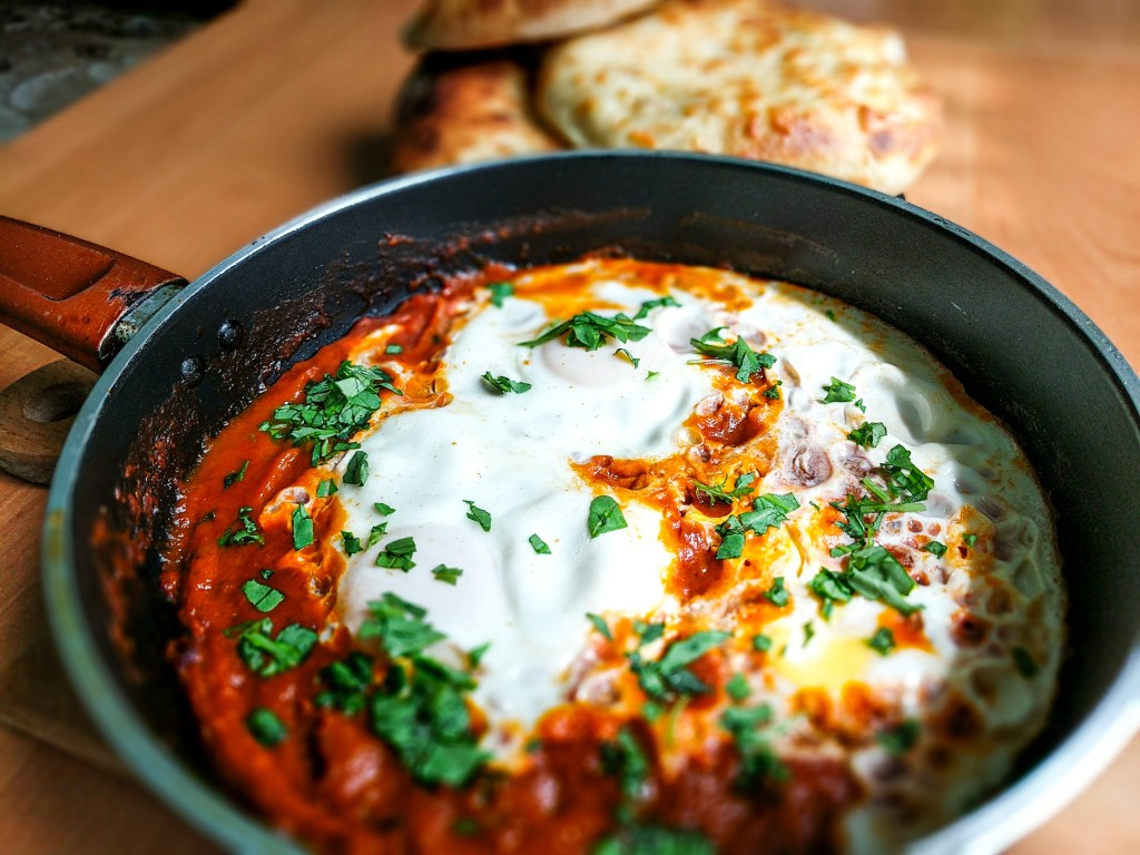 Shakshuka with Georgian Bread