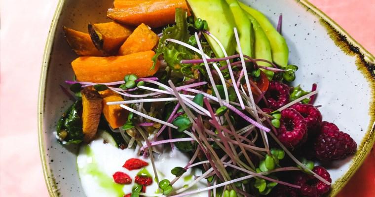 Sweet Potato Salad Bowl