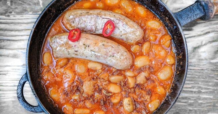 Sausage And Beans Skillet