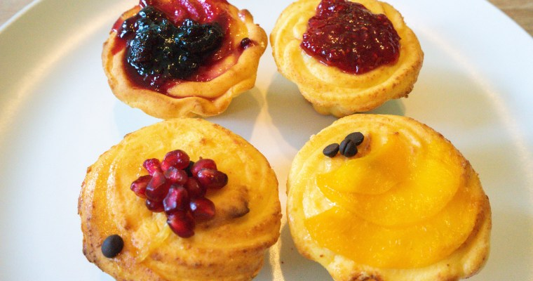 Ukrainian Cheesecake Tarts (4-Fillings)
